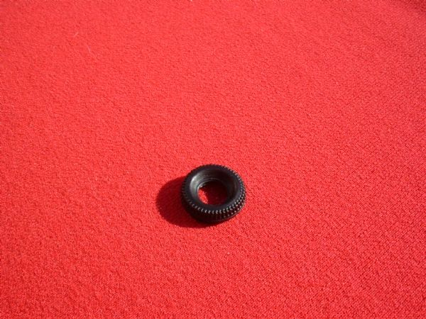 17mm Black Treaded for later type Dinkys Transit etc Tyre (Each)